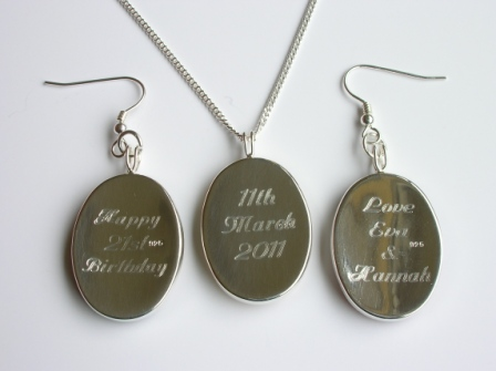 Jewellery gallery personalised jewelleryengraved pendants and click to view full size image aloadofball Image collections