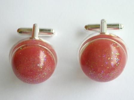 Tooty Fruity sweet cufflinks (red)