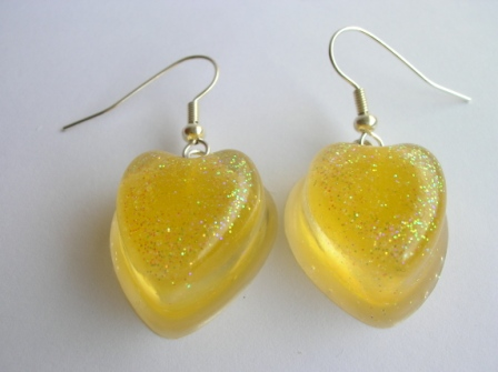 Jelly tot sweet earrings (yellow)