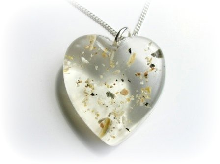 Jewellery for Ashes - Pendants for Ashes - Keepsake Jewellery