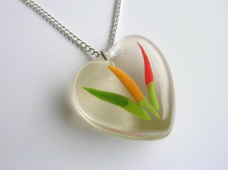 Chili Peppers pendant / necklace